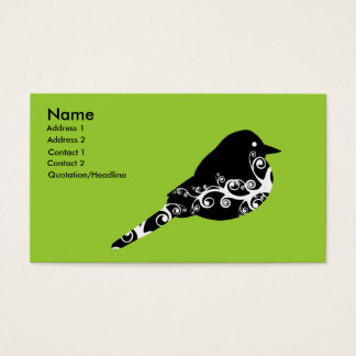 birdie business card