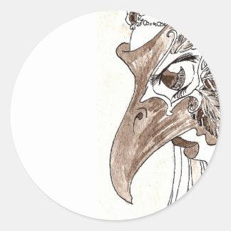 Birdie Classic Round Sticker