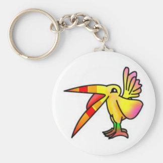 Birdie Creature Keychain
