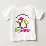 Birdie Going To Be A Big Sister Infant T-shirt