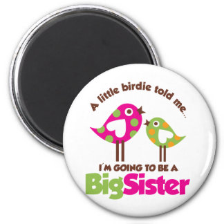 Birdie Going To Be A Big Sister Magnet