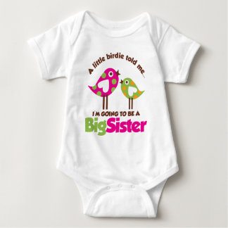 Birdie Going To Be A Big Sister T Shirt