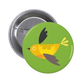 Birdie - Grass Green Pinback Button