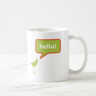 Birdie Hello Coffee Mug