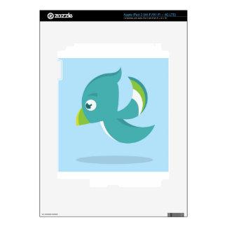 Birdie Icon Decals For iPad 3
