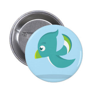Birdie Icon Pinback Button