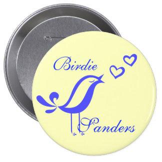 """""""Birdie Sanders"""" Button"""