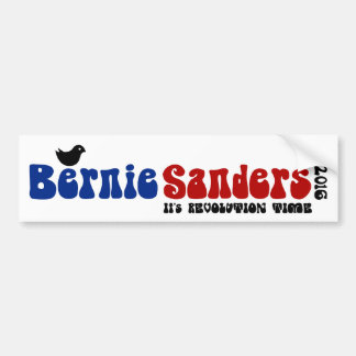 Birdie Sanders Retro Bernie POTUS Bumper Sticker