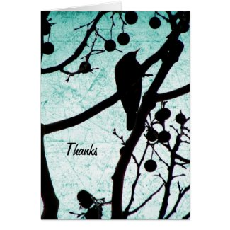 Birdie Thanks Cards