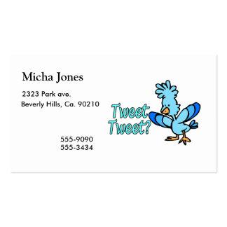Birdie Tweet Tweet Business Card