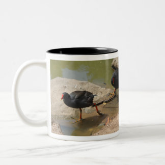 Birdie Two-Tone Coffee Mug
