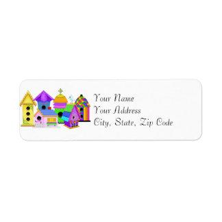 Birdie Village Address Labels