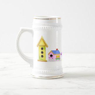 Birdie Village Ceramic Stein