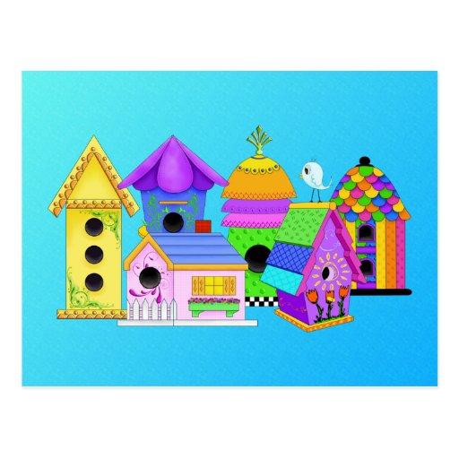 Birdie Village Post Card