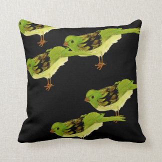 Birdie's pillow