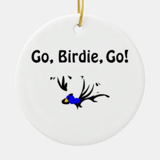 Birdie's Search for Hippo Ceramic Ornament