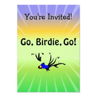 Birdie's Search for Hippo Personalized Invitations