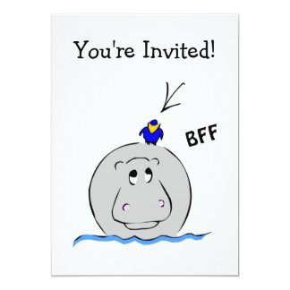 Birdie's Search for Hippo Personalized Announcement