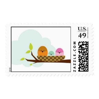 birdies stamp