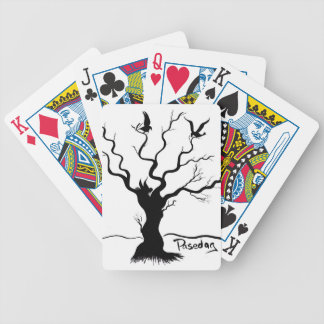 Birdies (Two Birds and a Bee) Bicycle Playing Cards