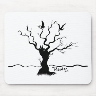 Birdies (Two Birds and a Bee) Mouse Pad