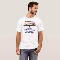 Birding and Politics T - Men's T-Shirt