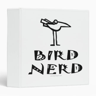 Birding, Bird Watching 3 Ring Binder