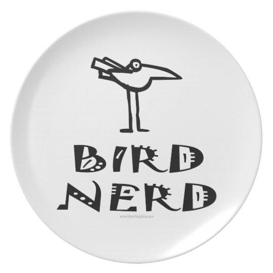 Birding, Birdwatching, Ornithology Melamine Plate