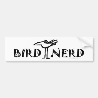 Birding, Birdwatching, ornitología Pegatina De Parachoque