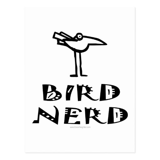 Birding, Birdwatching, ornitología Tarjeta Postal