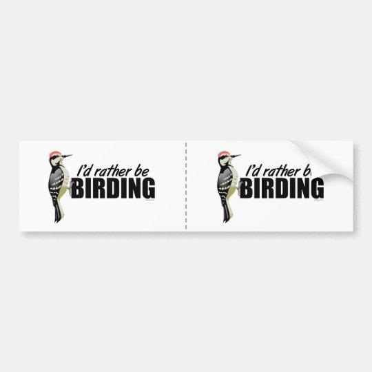 Birding Bumper Sticker
