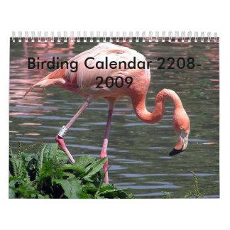 Birding Calendar 2008-2009
