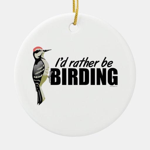 Birding Christmas Tree Ornaments