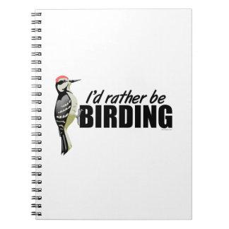 Birding Spiral Notebooks