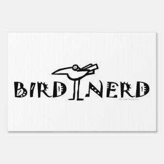 Birding divertido letrero
