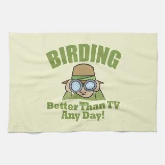 Birding Hand Towel