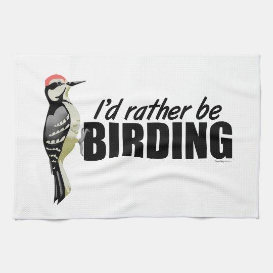Birding Kitchen Towel