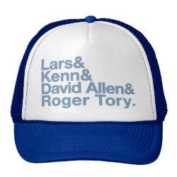 Trucker Hat with Birding Legends design
