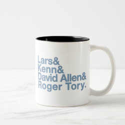 Two-Tone Mug with Birding Legends design