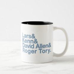 Two-Tone Mug with Birding Legends design