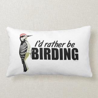 Birding Lumbar Pillow