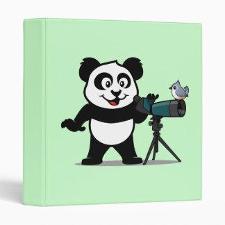 Birding Panda 3 Ring Binder