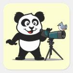 Birding Panda Sticker