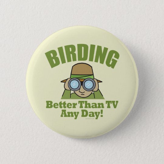 Birding Pinback Button
