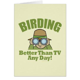 Birding Tarjeta De Felicitación
