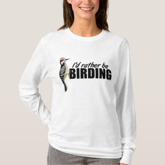 Birding Woodpecker T-Shirt