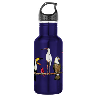 Birdlover 18oz Water Bottle