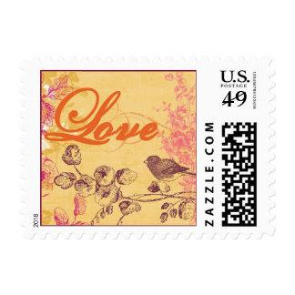BirdLoveStampSmall Stamp