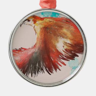 Birdman Metal Ornament