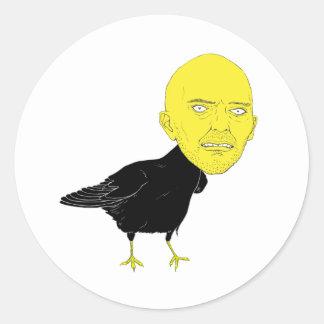 Birdman Pegatina Redonda